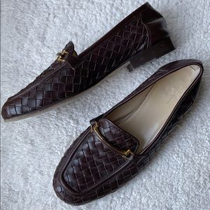 Cole Haan Collection woven loafers